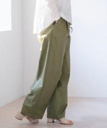 打摺 寬褲#
