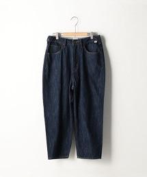 USA棉丹寧5口袋哈倫褲
