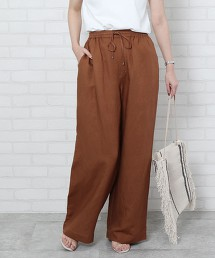 【可成套】亞麻 嫘縈 輕便褲#(寬褲)