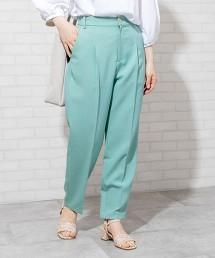 【可成套】彷亞麻 錐形長褲# OUTLET商品