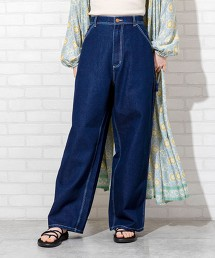 SMITH'S特別訂製 油漆工人寬褲