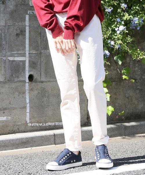 彩色輕便合身褲