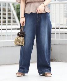 USA美國棉 丹寧 寬褲
