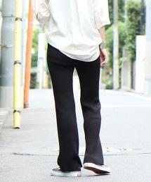 【抑制體味加工】羅紋棉褲