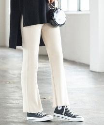 【止汗加工】羅紋棉褲