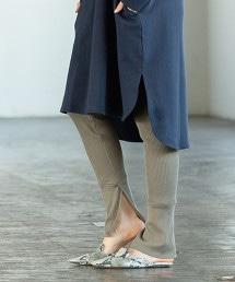 【1M】THERMAL開衩緊身褲