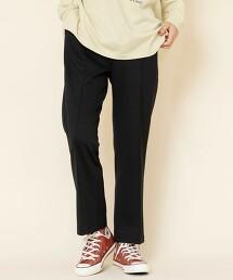 綾織運動衣材質 摺線長褲