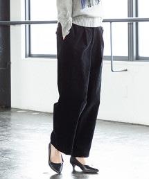 USA美國棉 燈心絨 微寬版 打摺寬褲