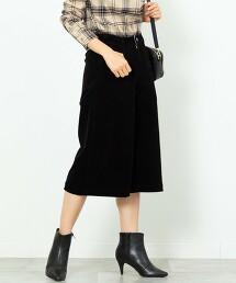 USA美國棉 燈心絨 寬褲 (褲裙)