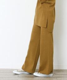 柔滑針織褲