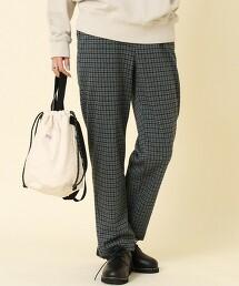 仿羊毛 運動褲 灰色(錐形褲/運動材質)
