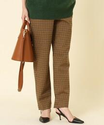 仿羊毛 運動褲 棕色(錐形褲/運動材質)