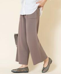 【可成套・防靜電產生】美麗諾羅紋針織褲#