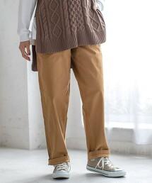 彈性大口袋軍褲