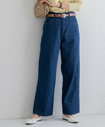 寬直筒丹寧褲(寬褲/直筒/牛仔褲)