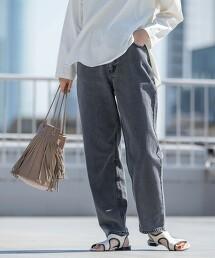 錐形繭型牛仔褲#