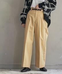 寬版直筒CHINO褲