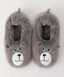 coen Bear 室內拖鞋 ※因吊牌產地表示有誤,此商品實際的產地為中國製造