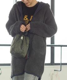 衍縫×絨毛 雙面 連帽外套
