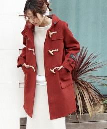 義大利回收羊毛 牛角釦大衣
