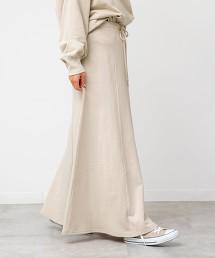 USA美國棉 內刷毛A字裙(衛衣材質/迷嬉裙/長裙)