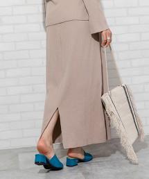 羅紋長裙(可成套)