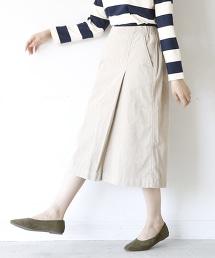 燈芯絨褶裙 OUTLET商品