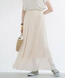 輕薄 透膚感長裙