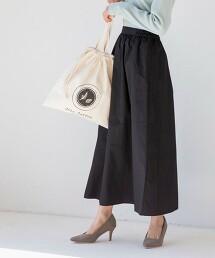 棉質微A字裙(長裙/直條紋裙/鬆緊腰)