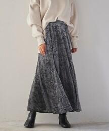 經典天鵝絨長裙