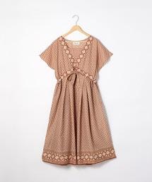 【先行販売・Market】菱格紋洋裝