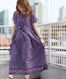 【Market】菱格紋洋裝