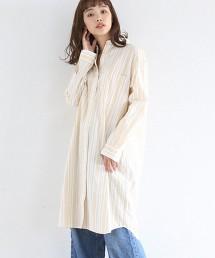 【基本款單品小改款】府綢襯衫式洋裝