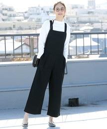 斜紋織連身褲