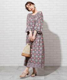 Market 莫代爾花朵洋裝