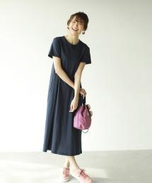 【抗污漬】長版A字洋裝