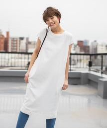 USA美國棉法國袖洋裝