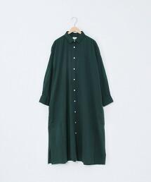 棉縲縈長袖襯衫連身裙※因吊牌產地表示有誤,此商品實際的產地為孟加拉國製造