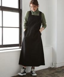 輕盈斜紋布吊帶裙