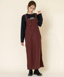 工裝吊帶裙#