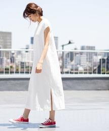 USA美國棉長版洋裝