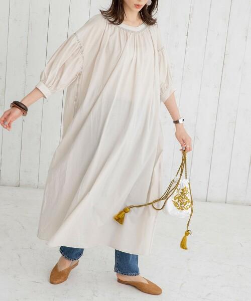 迷嬉裙 抽摺洋裝#