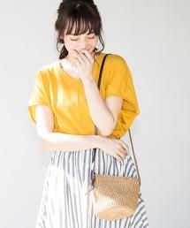 【CM著用單品】瓊麻草編迷你肩背包
