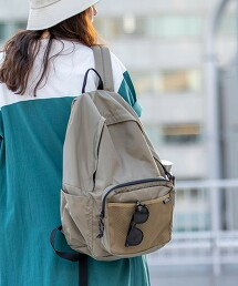 【LIGHT WEIGHT BAG】輕量尼龍 後背包