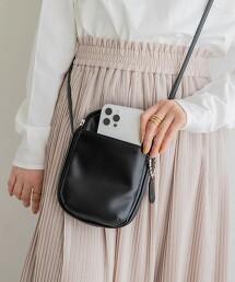 隨身錢包 肩背包(迷你包/仿皮革/卡夾/智慧型手機掛包)