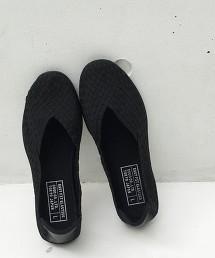 【也能當室內鞋】鬆緊 網眼 平底鞋 懶人鞋 OUTLET商品
