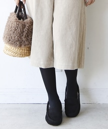 環保毛皮平底鞋(莫卡辛鞋/懶人鞋)
