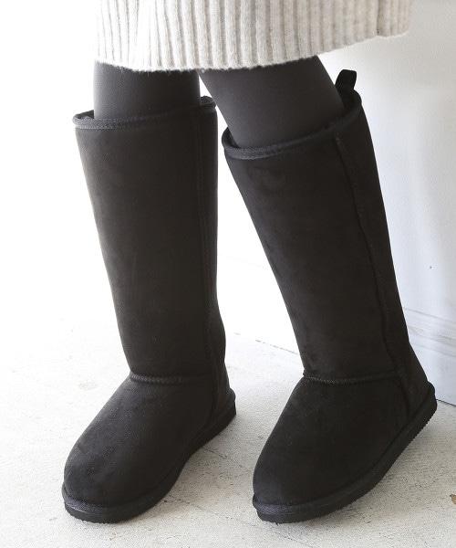 環保毛皮長雪靴