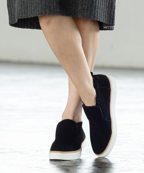 【刊載在mook雜誌】半高筒仿皮草懶人鞋 OUTLET商品