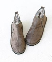 【去年同樣熱賣】防潑水 仿毛皮 短靴 OUTLET商品